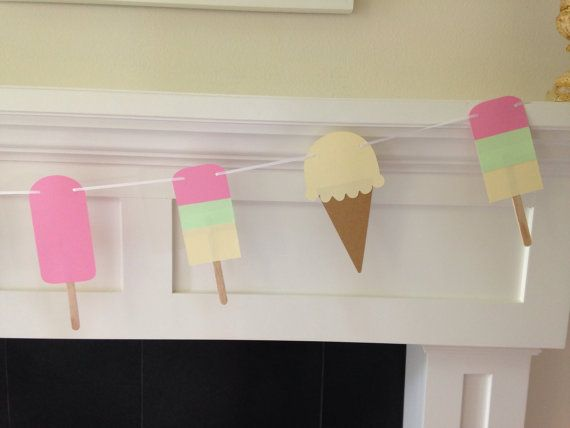 Hey, I found this really awesome Etsy listing at https://www.etsy.com/listing/194605814/summer-treats-party-garland-banner