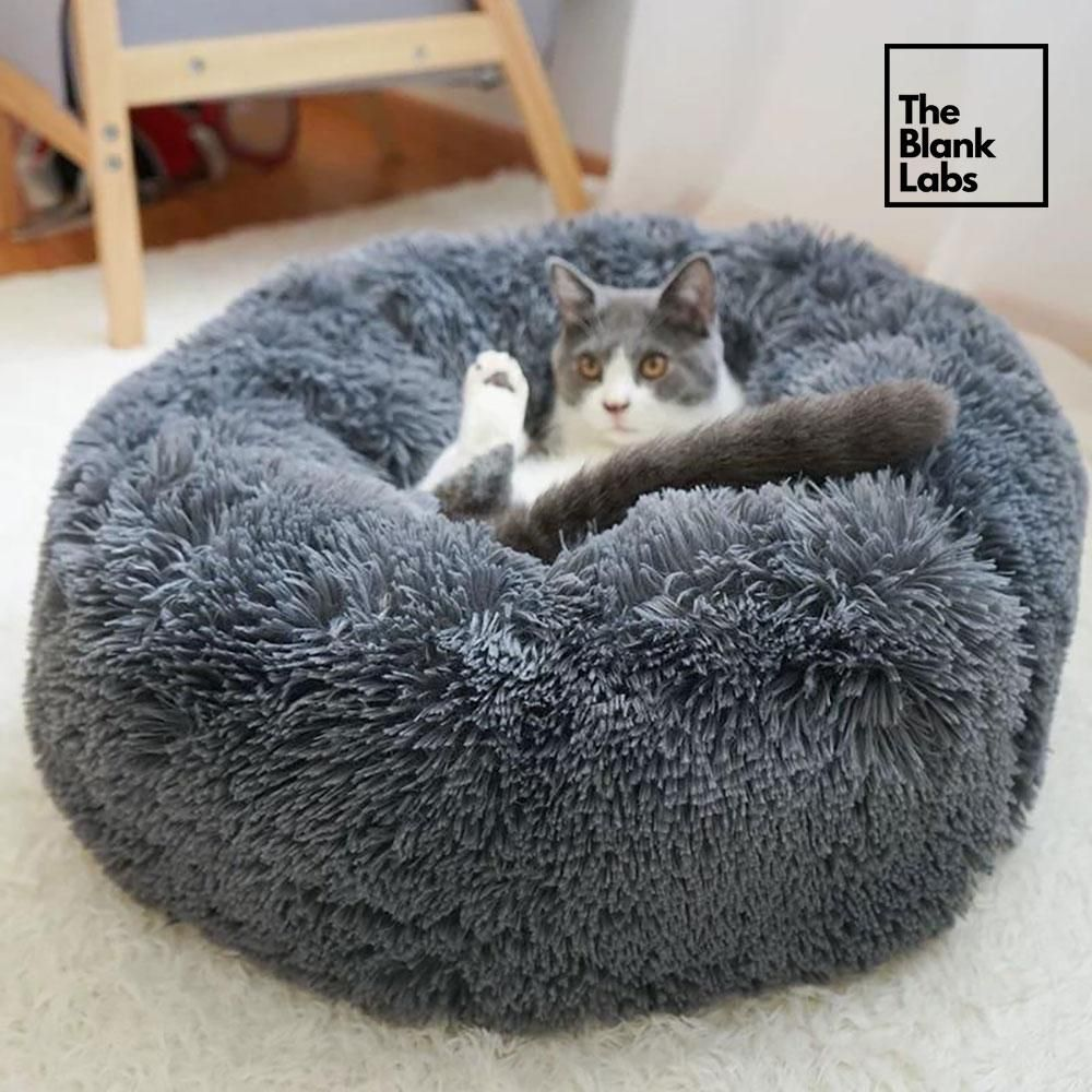 The Original Calming Donut Bed for Pets Dog bed, Pet