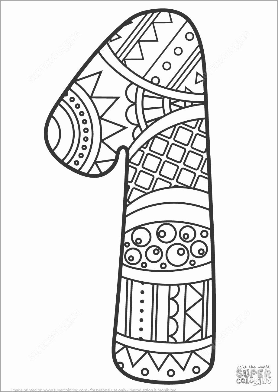 Number 1 Coloring Sheets Inspirational Number 1 Coloring Pages Coloringbay In 2020 Animal Coloring Pages Coloring Pages Coloring Books
