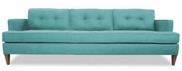 FunkySofa.com MID CENTURY Sofa Would Blend Into Our Walls. Too Bad The  Animals