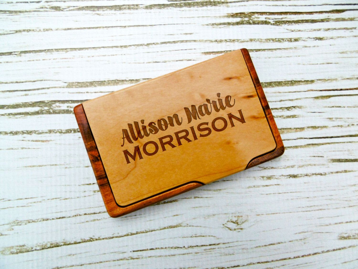Custom Business Card Holder, Personalized Business Card Case, New ...
