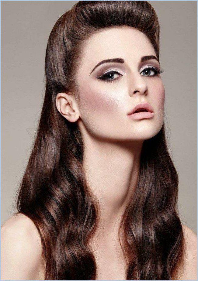 50s Hairstyles Longhair Rockabilly Hairstyles Long Hairstyles Hairstyles Long Hair Hairstyles Long Hair Long Rockabilly Makeup Gorgeous Makeup Hair Makeup
