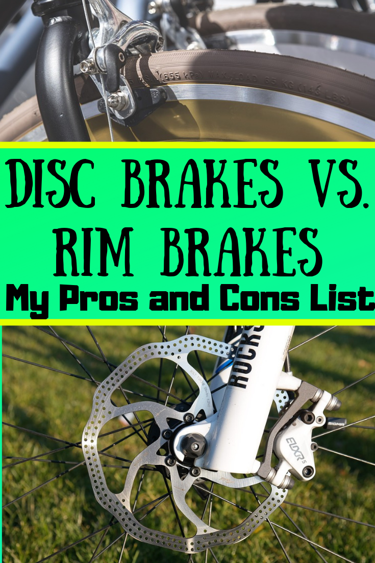 Disc Brakes Vs Rim Brakes For Bicycle Touring My Pros And Cons