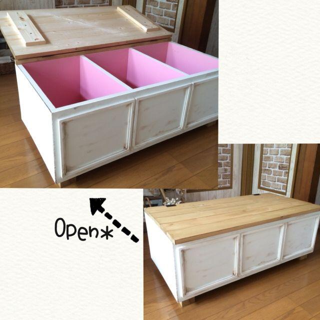 棚 ベンチ収納 ベンチbox カラーボックスリメイク カラーボックス Diy