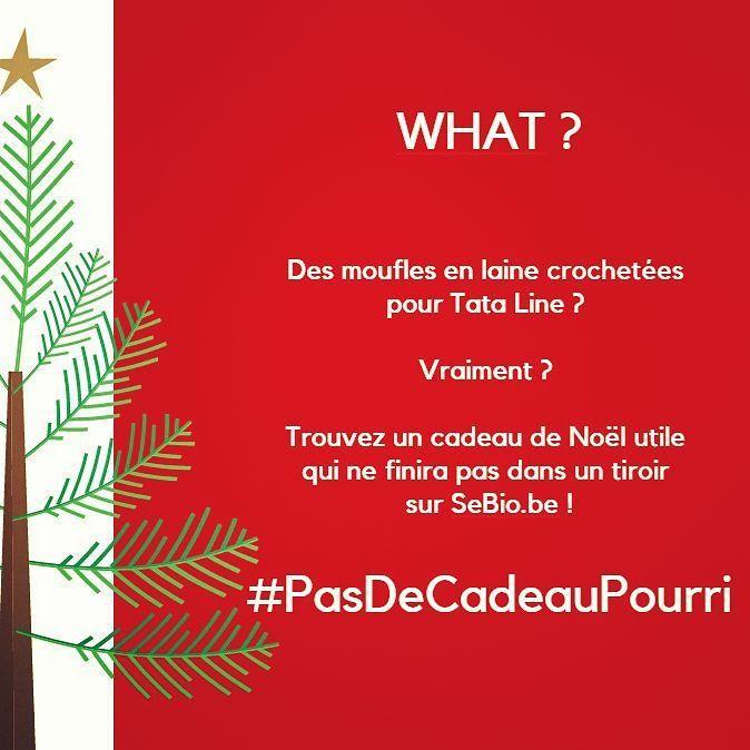 Pitié pour les fêtes #PasDeCadeauPourri ! On vous aide sur http://www.sebio.be