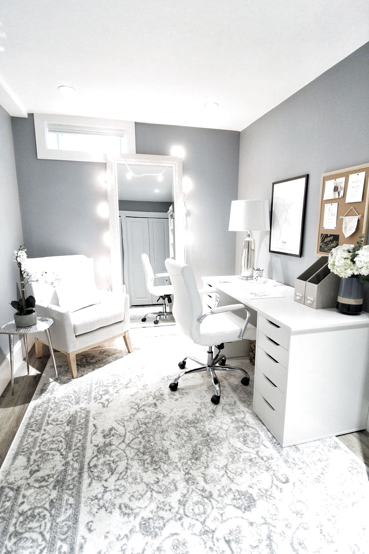 A little classy office DIY. #office #diy #officedecor #officedesign