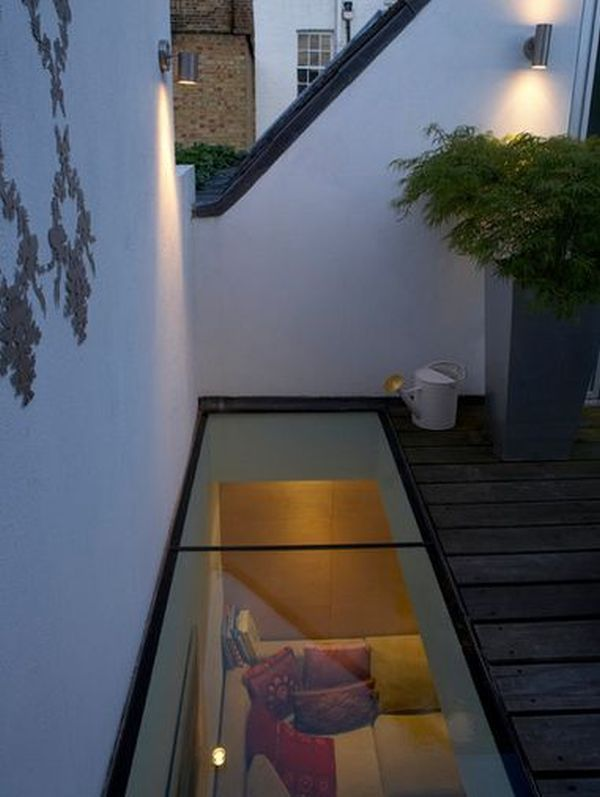 No skirts allowed when you have a transparent glass floor in your house glass house and ceilings