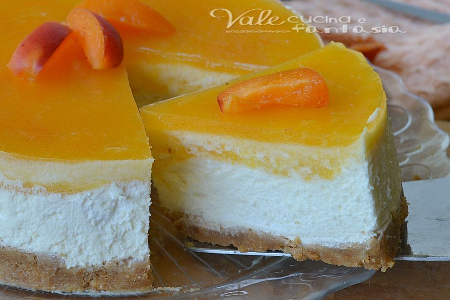 Photo of Torta fredda con albicocche e mascarpone senza cottura Le vo