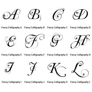 English Calligraphy Alphabet A Z Google Search Chinese English