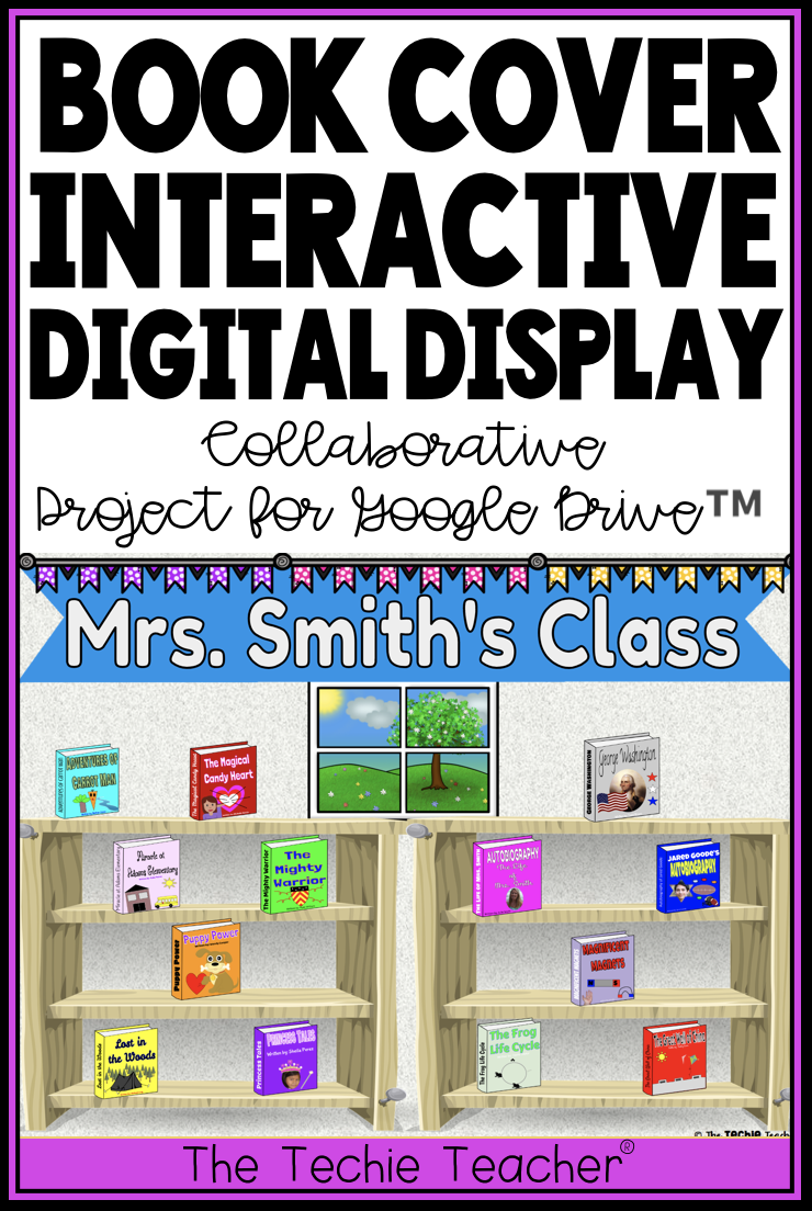 Design A Book Cover Collaborative Class Project Techie Teacher Technology Lesson Plans Technology Lesson