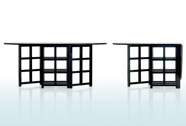 Tavolo Mackintosh ~ Alle estremità del tavolo ulisse di tisettanta due sedie famose