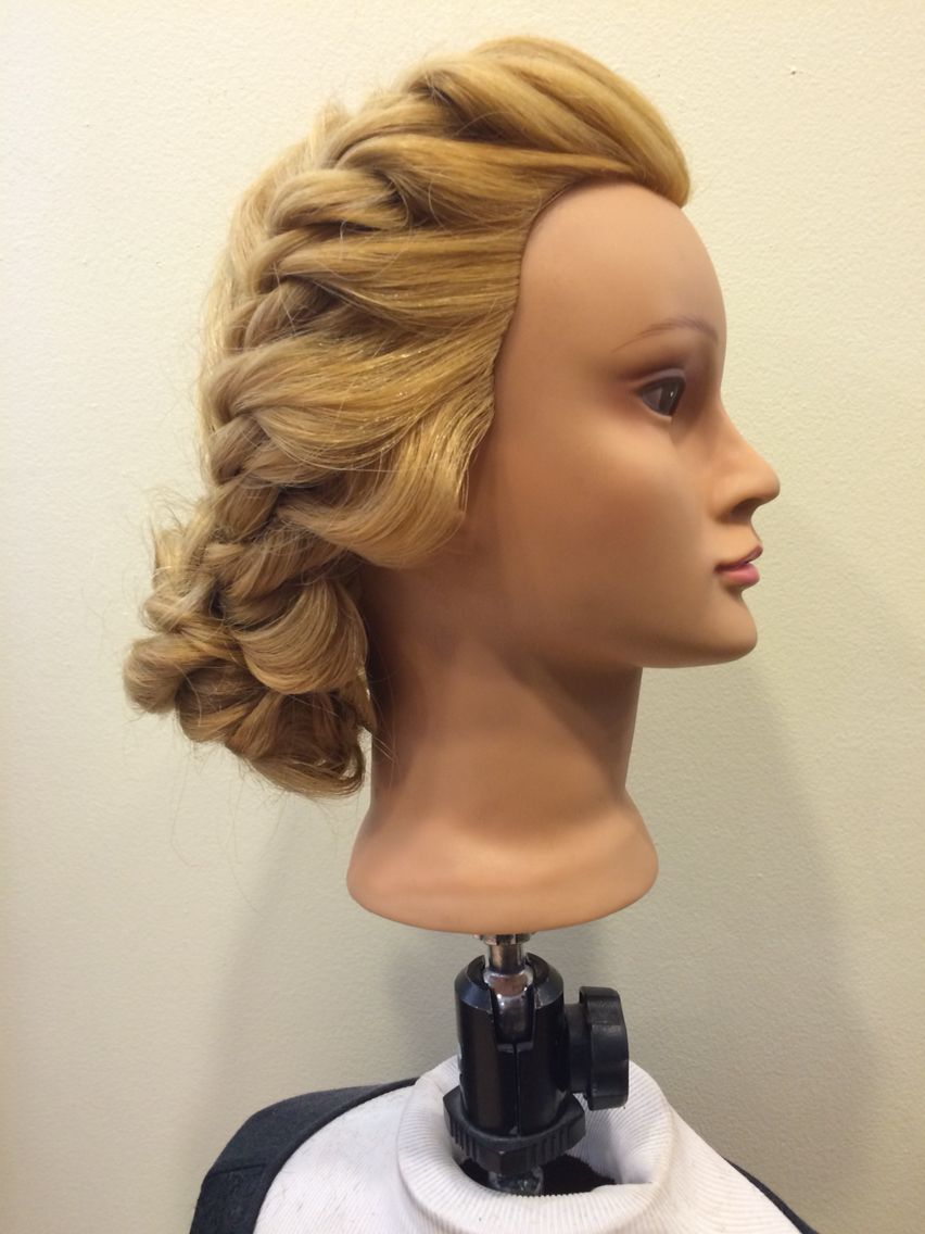 Rope braid week editorial hair styling pinterest editorial