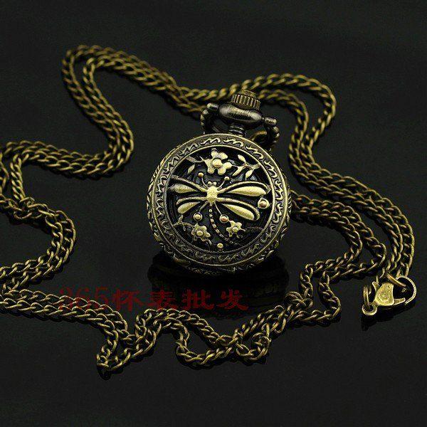 Encontrar Más Relojes de Bolsillo Información acerca de A036 del envío del nuevo antigüedad de la libélula pequeño bolsillo del regalo de navidad, alta calidad regalos noticias, China regalo de boda Proveedores, barato regalo de 365 Watch Factory en Aliexpress.com