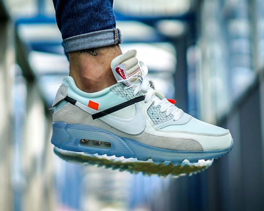 the best attitude bd142 f9877 Is The OFF-WHITE x Nike Air Max 90 ICE On Your Must-Cop List