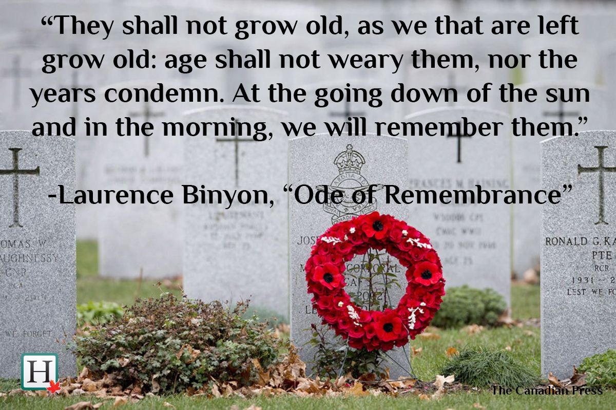 Remembrance Day Quotes Words To Honour Veterans Militaryhistory