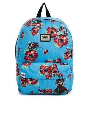 groß auswahl frische Stile Geschäft Vans x Star Wars Blue Floral Print Backpack | Zumiez | Vans ...