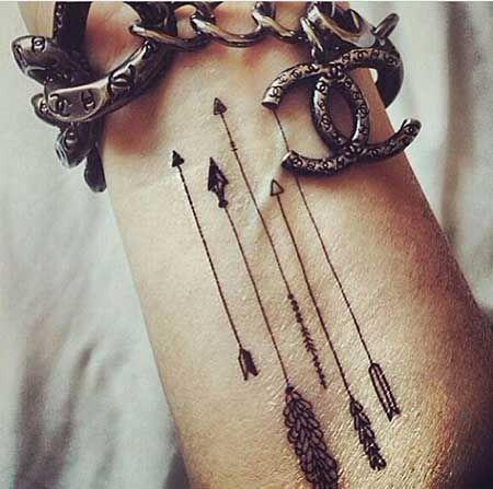 significado de flechas