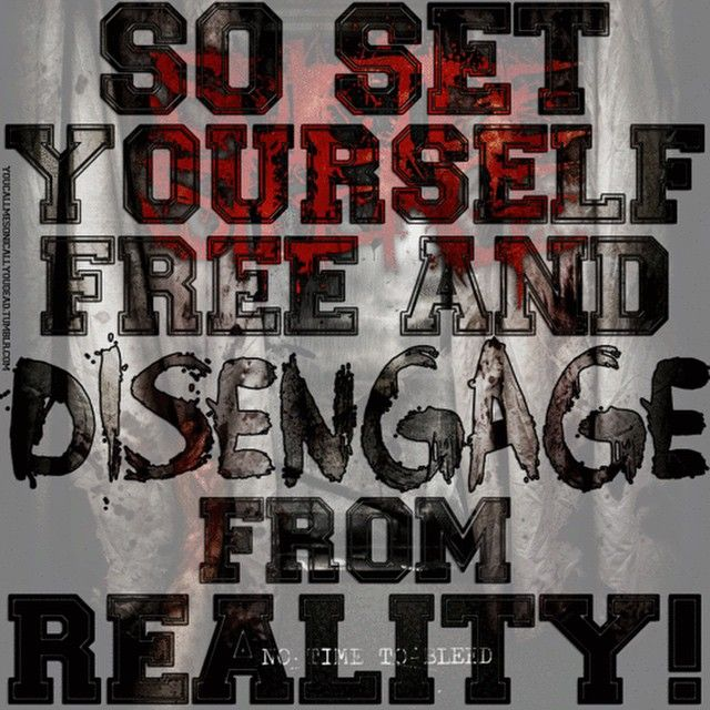 Suicide Silence Quotes: Suicide Silence- Disengage Also Has One Of My Favorite
