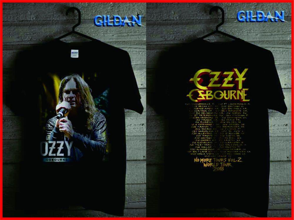 37419209 BEST OF Ozzy Osbourne BLACK SABBATH 2018 GILDAN T-SHIRT NO MORE TOURS  #fashion #clothing #shoes #accessories #mensclothing #shirts (ebay link)