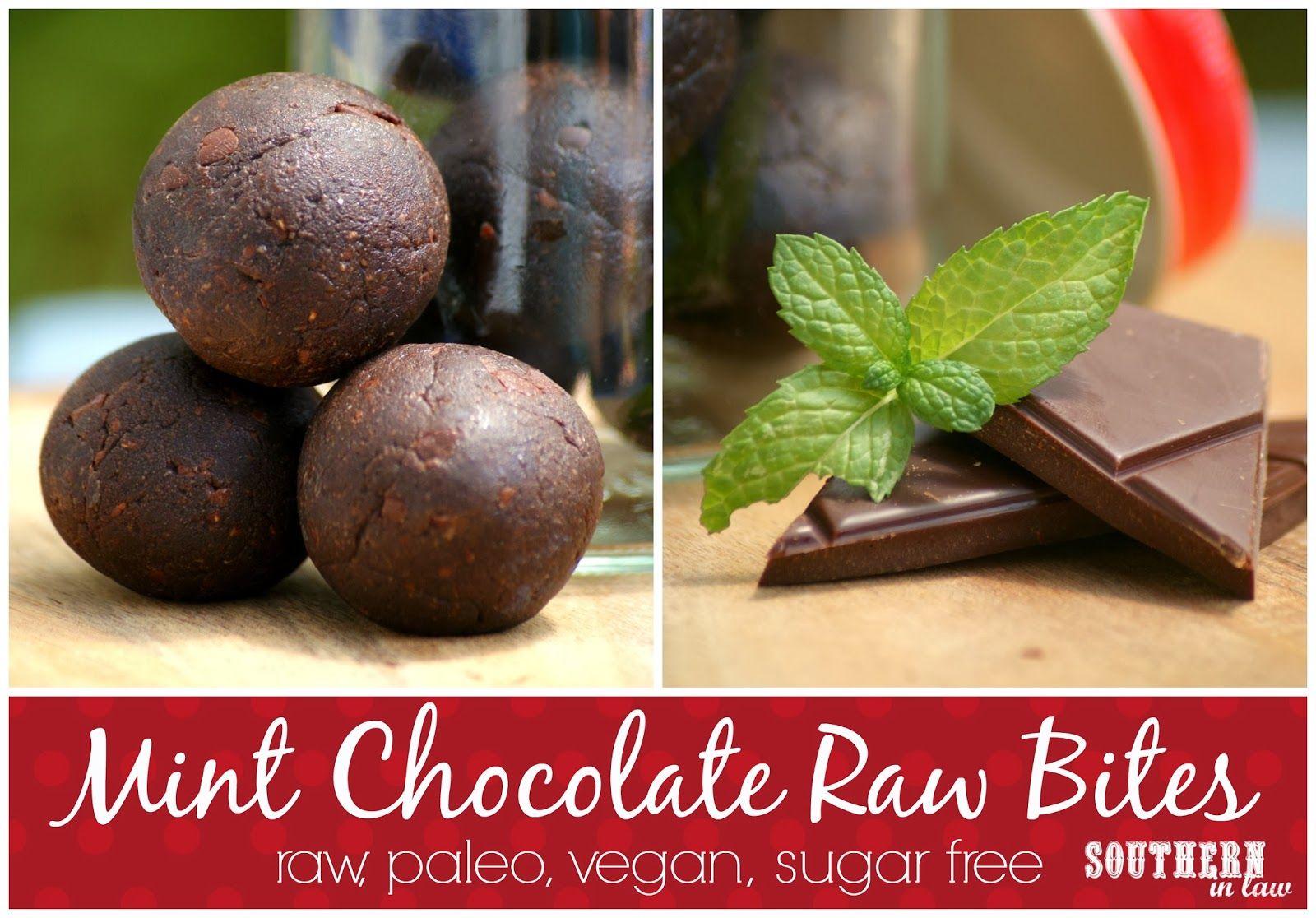 Raw Mint Chocolate Balls #SouthernInLaw