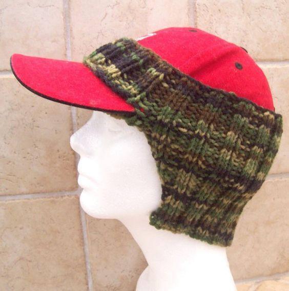 PDF Pattern Only--Baseball Cap Ear Warmer cd158fbcec5