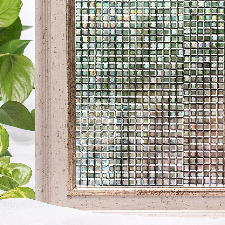 Amazoncom Window Film 177X787 Inches 3D Static Privacy Decoration Self