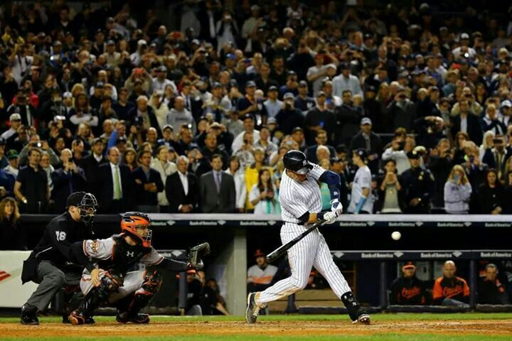 Final hit at yankee stadium