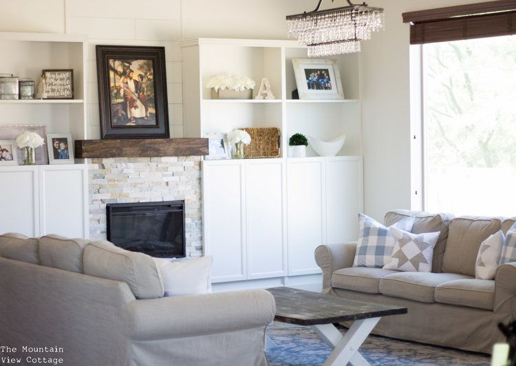 Farmhouse Style Formal Living Room Reveal Client Project