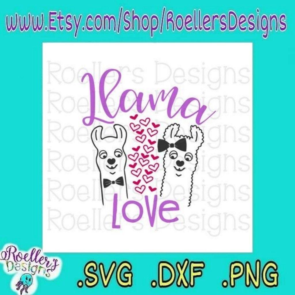 Download LOVE this SVG 😍😍😍 | Valentine fun, Cute llama, Cricut