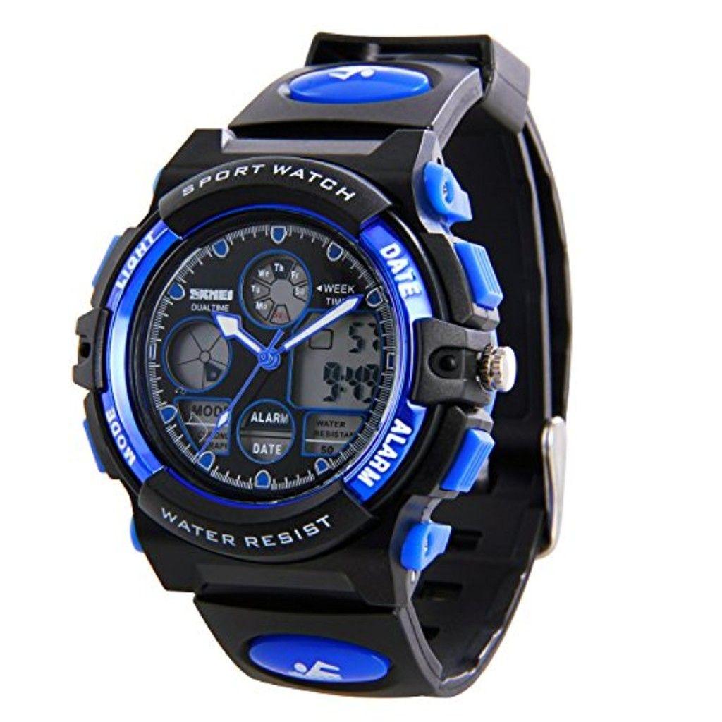 hiwatch montres de sport pour enfants montre bracelet. Black Bedroom Furniture Sets. Home Design Ideas
