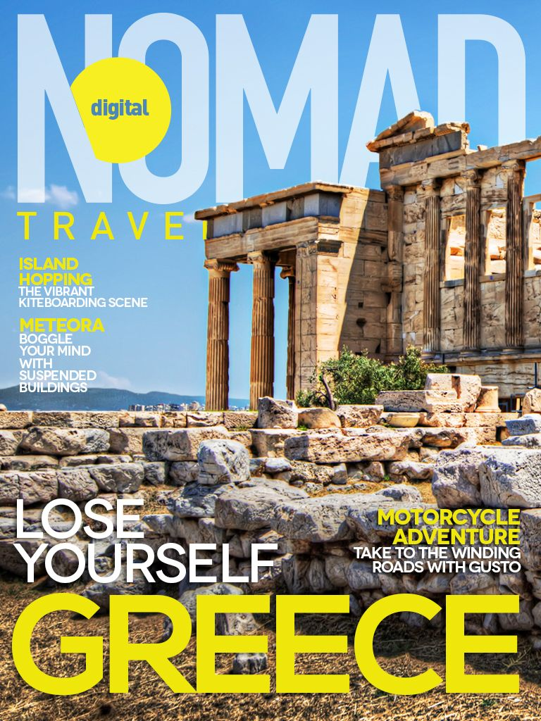 May 2013 Mag Cover: Greece, Lose Yourself.  Read the full edition in the digital magazine, free newsstand app! https://itunes.apple.com/us/app/digital-nomad-travel-magazine/id567469496?mt=8