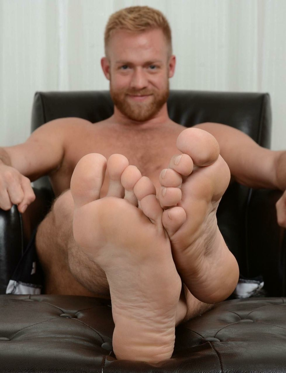 Naked blonde male-8710