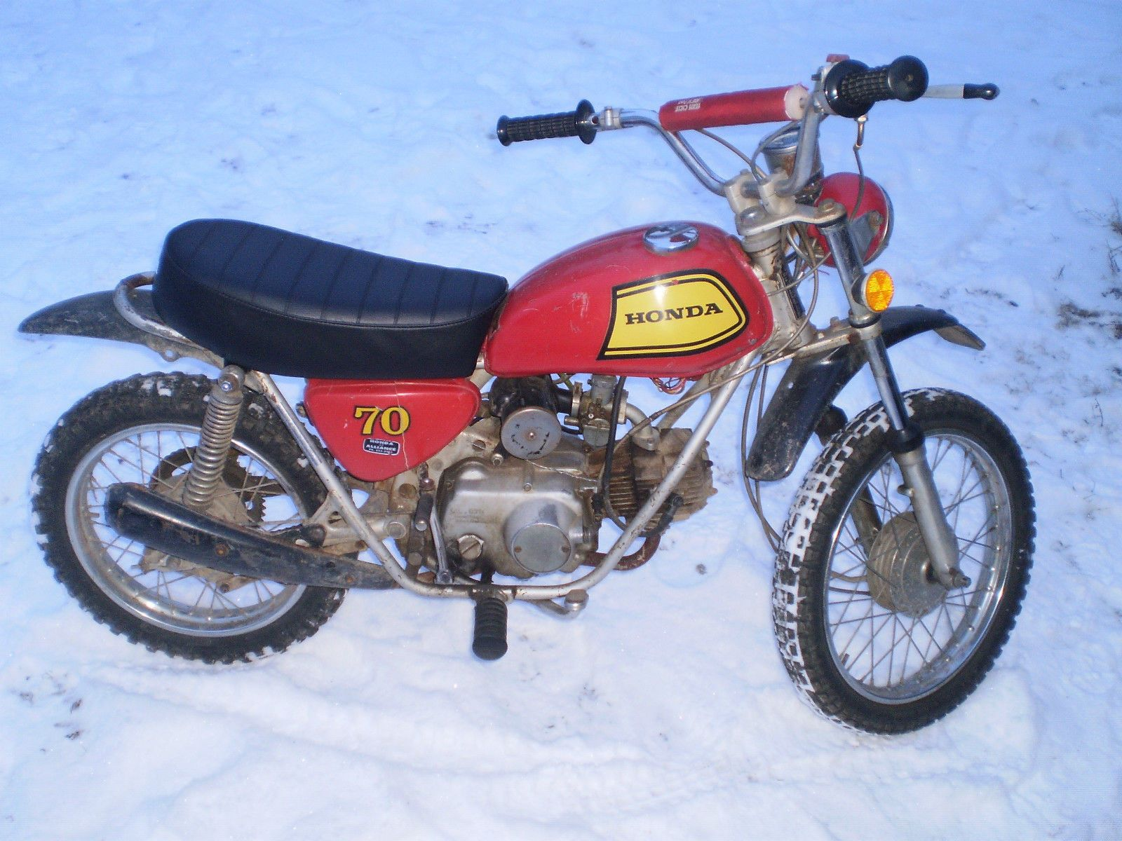 honda : other 1972 honda sl 70 vintage trail bike cb ct sl cl