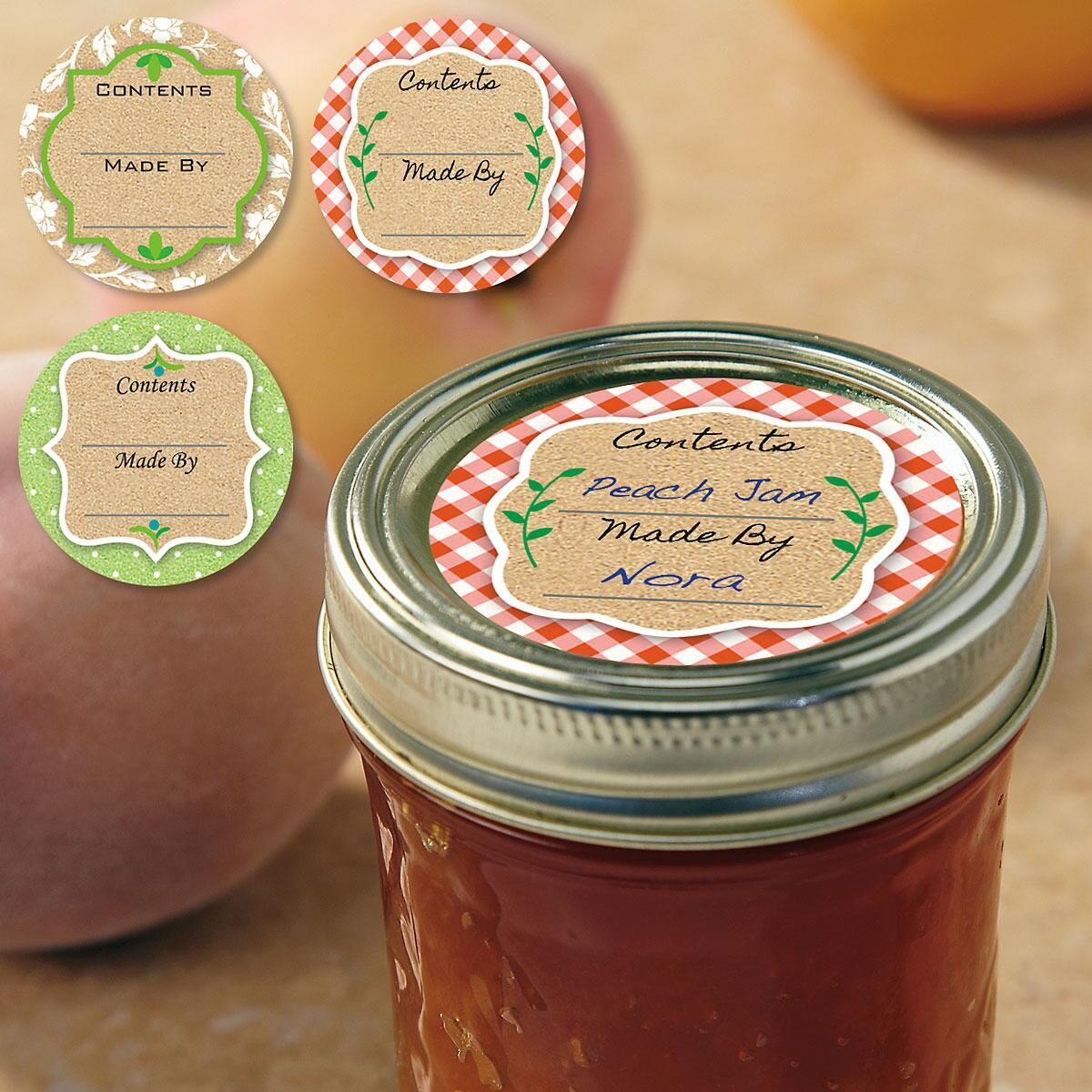 Canning Jar Labels, Canning