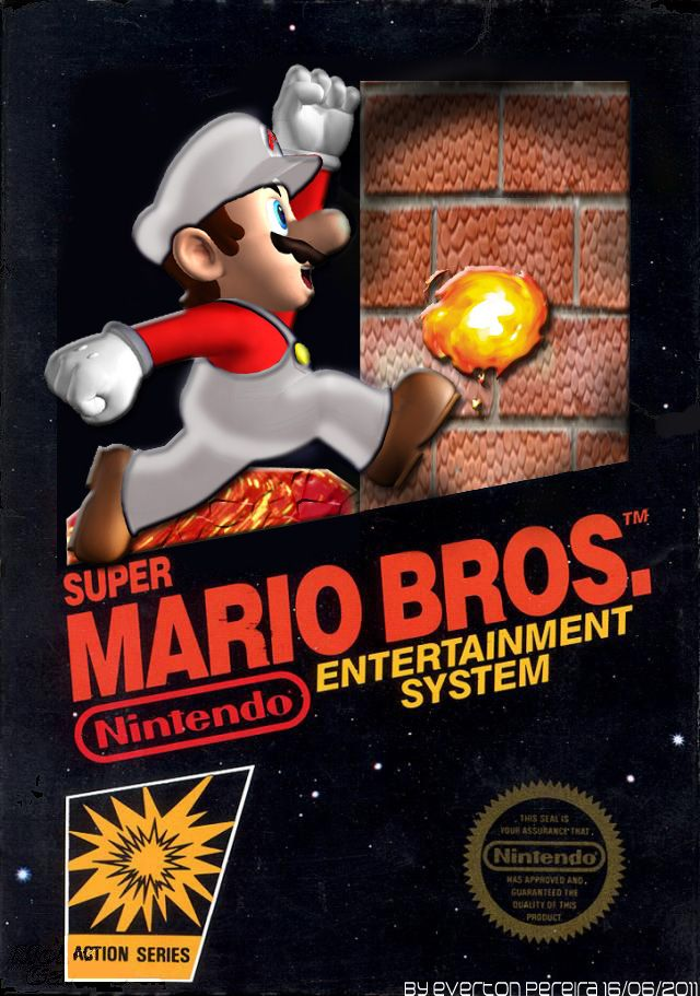 Super Mario Bros Is A Great Nintendo Game Here My Cover Remake