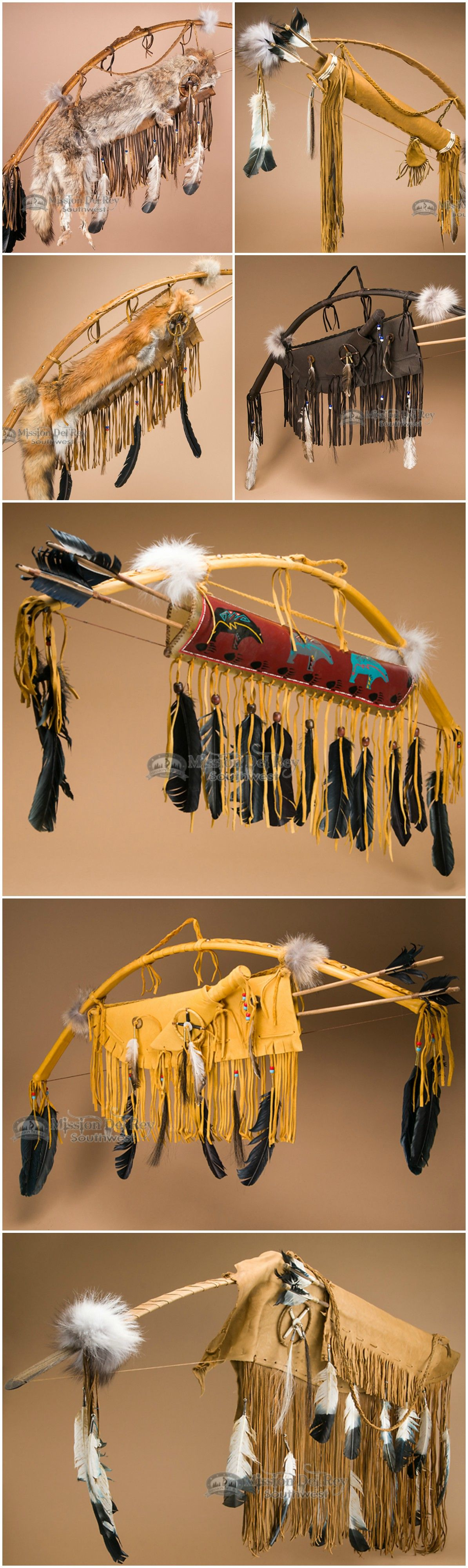 Native American bows and arrows are classic cultural icons that