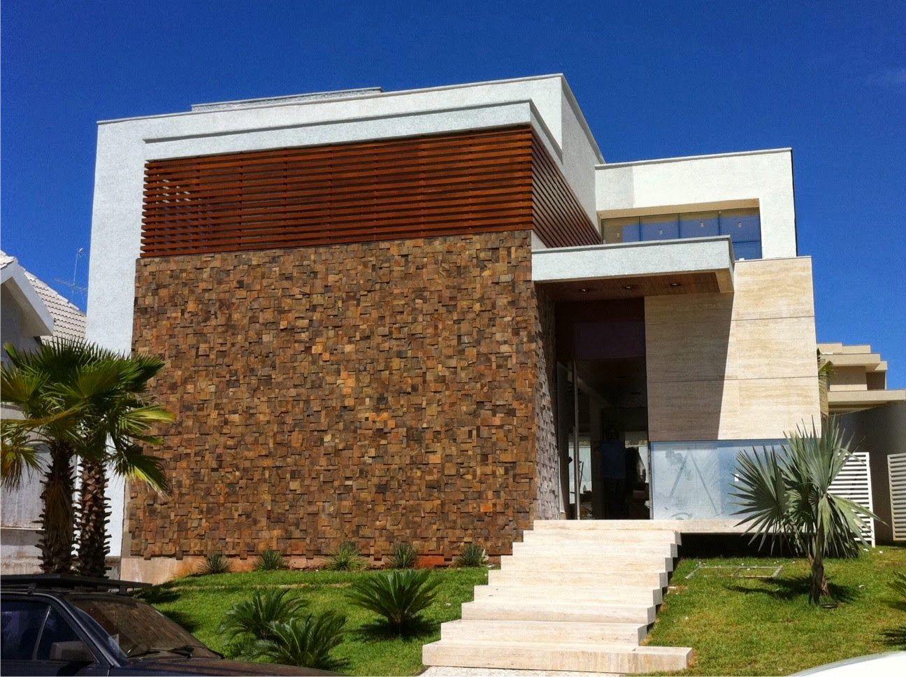 fachadas de casas com escadas na frente veja entradas lindas e modernas decor