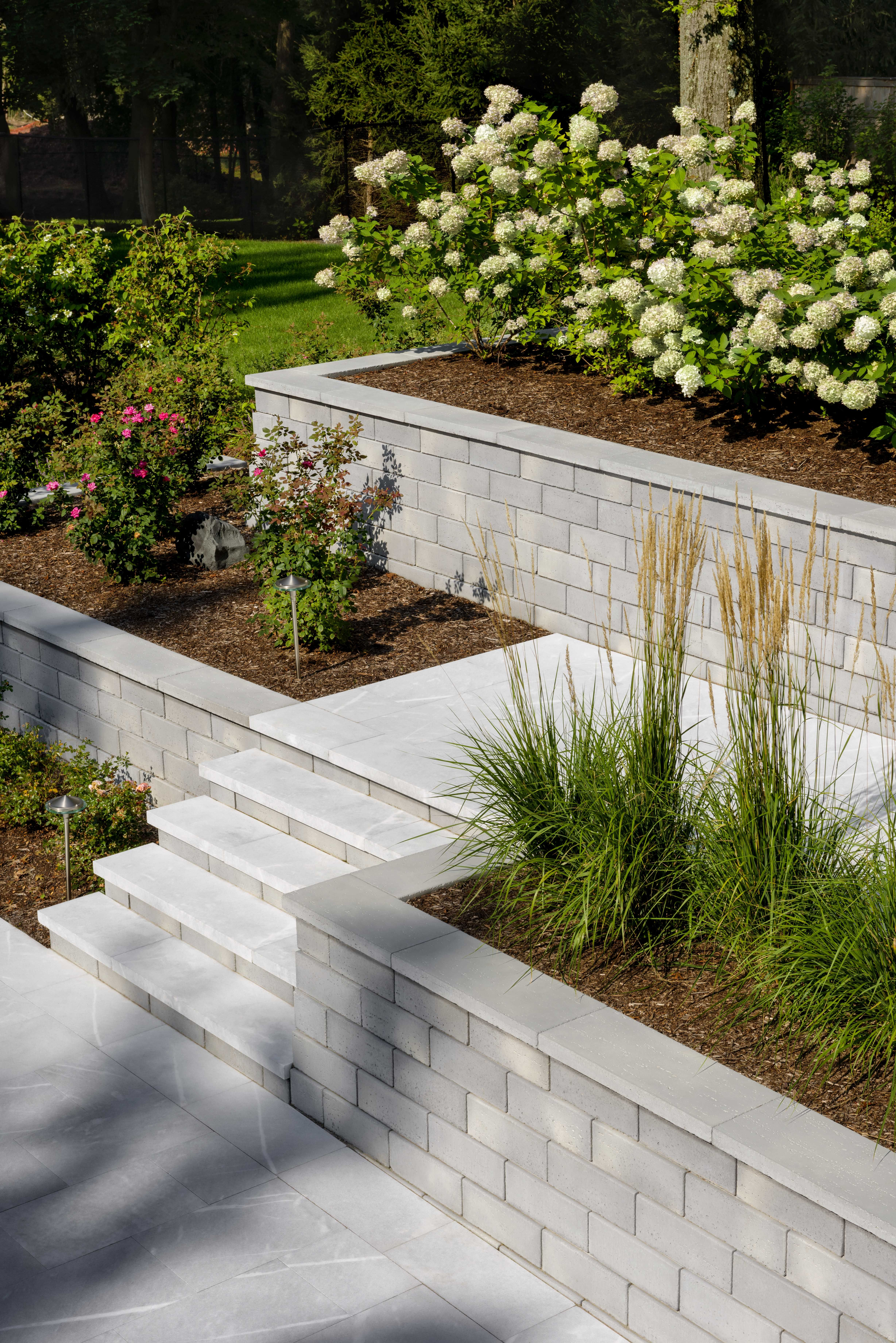 Retaining Wall Ideas  Backyard retaining walls, Landscaping