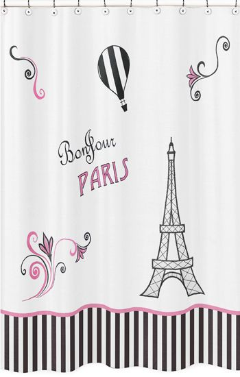 Bonjour Paris Make A Statement In Your Bathroomdecor With This