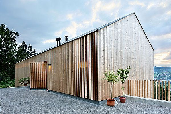 Holzbau architektur  Holzwand, öffne dich! | nachhaltige Architektur, Holzwand und Holzbau