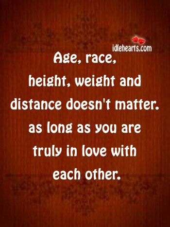 Via Www Idlehearts Com Age Difference Quotes Matter Quotes Age Doesnt Matter