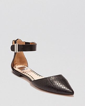 Dolce Vita Pointed Toe D'Orsay Flats - Agusta | Bloomingdale's