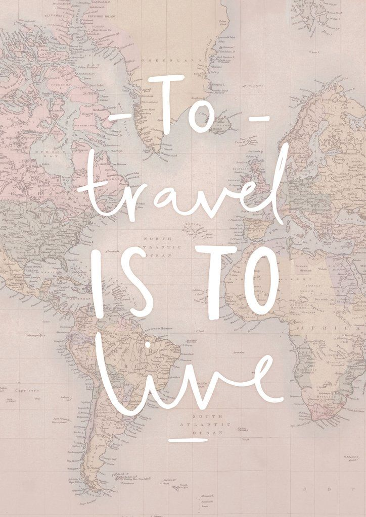 Pinterest inspirational travel quotes travel map print gumiabroncs Choice Image