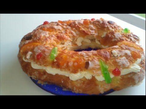 Como Hacer Roscon De Reyes Casero Roscon De Reyes Casero Comida Y Bebida Comida