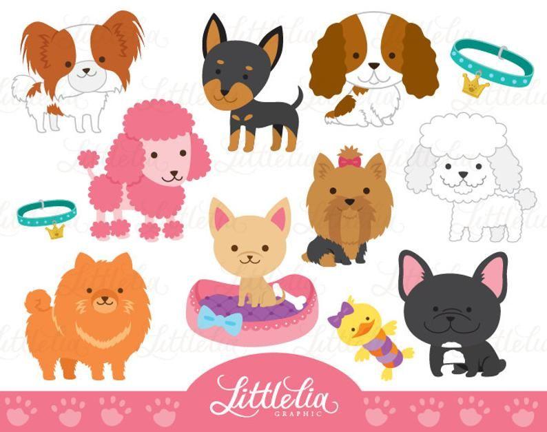 Jouet Mignon Chien Clipart Clipart Chien 16017 Etsy In 2020 Dog Toys Clip Art Cute Toys