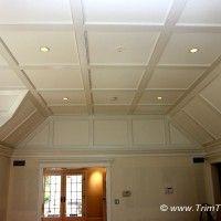 004. Coffered ceiling, flat style. Princeton, NJ 08540.