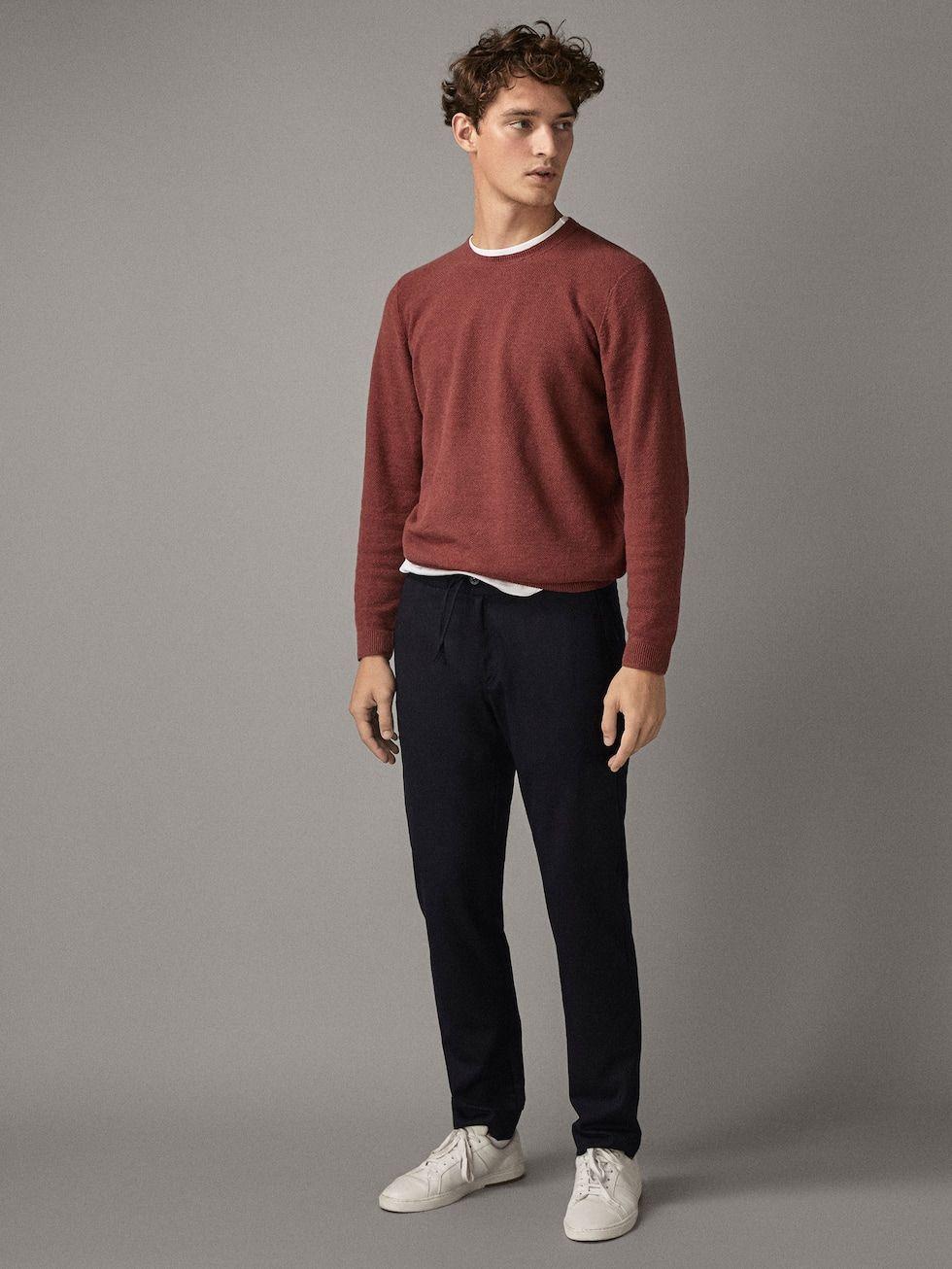 New In Men S Collection Massimo Dutti Autumn Winter 2018 Minimalist Fashion Men Stylish Men Casual Stylish Men