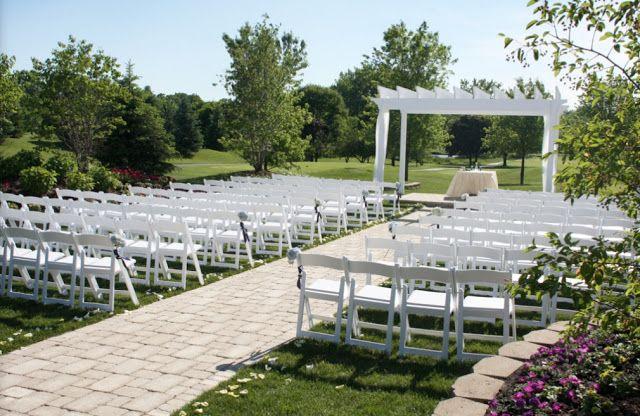 Illinois Outdoor Wedding Venues Arrowhead Golf Club Wheaton Il