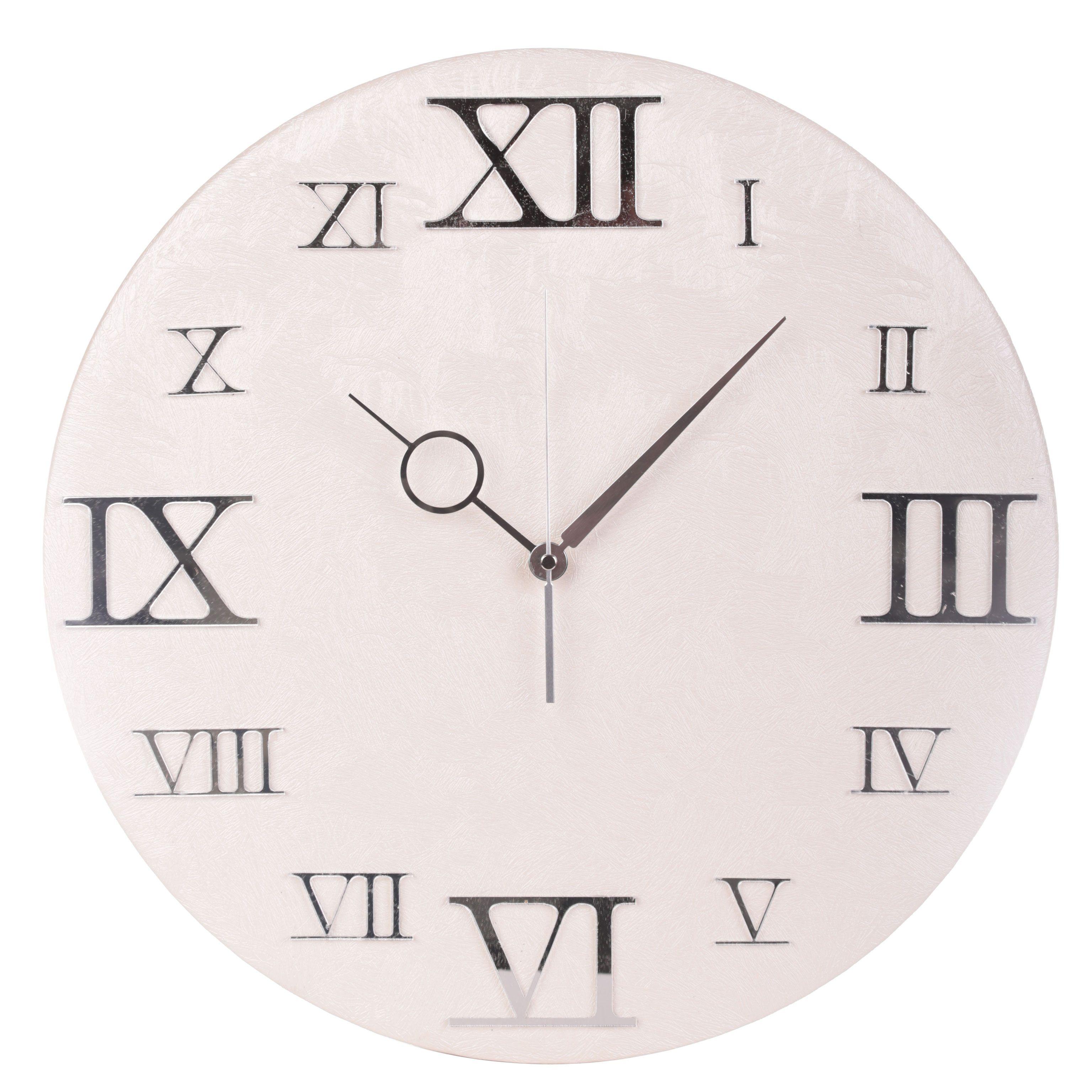 orologio da muro ecopelle orione