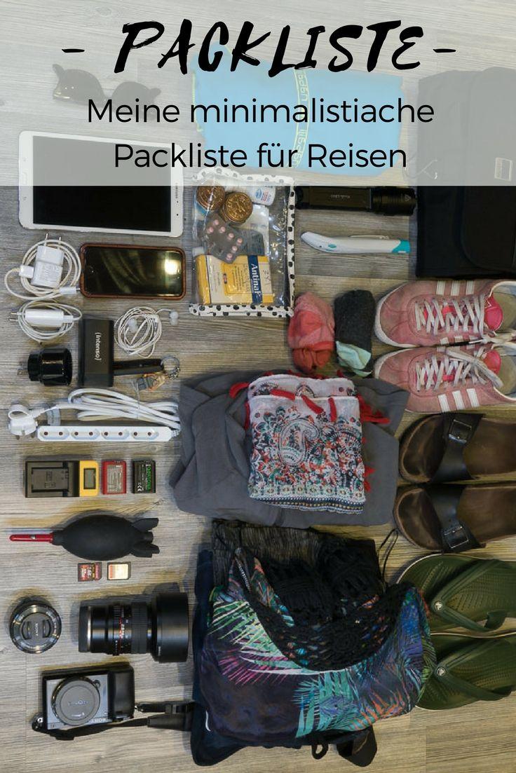 Minimalistische reisepackliste checkliste for Minimalistisch werden